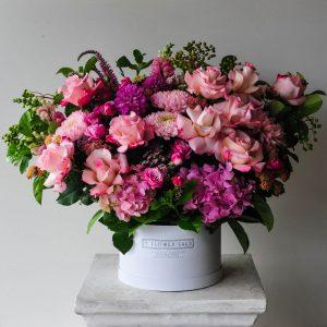 grande lux flower hatbox