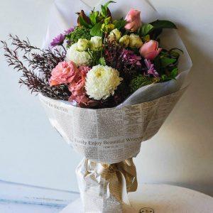 classic blooms bouquet