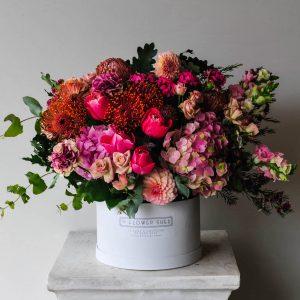 spring blooms flower arrangement