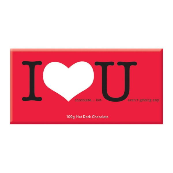BELLABERRY CHOCOLATE - I LOVE YOU (DARK)