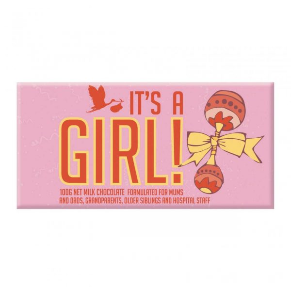 BELLABERRY CHOCOLATE - IT'S A GIRL