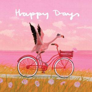 DESIGNER CARD - HAPPY DAYS