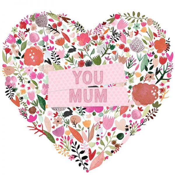 DESIGNER CARD - LOVE YOU MUM