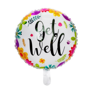 FOIL BALLOON - GET WELL
