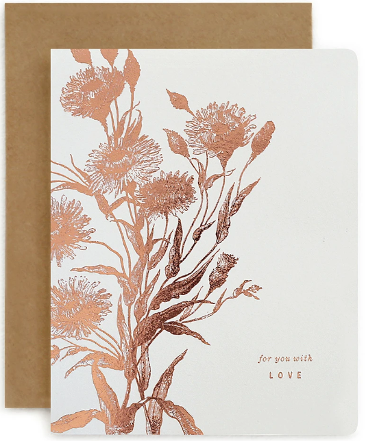 BOTANICAL 'FOR YOU WITH LOVE'