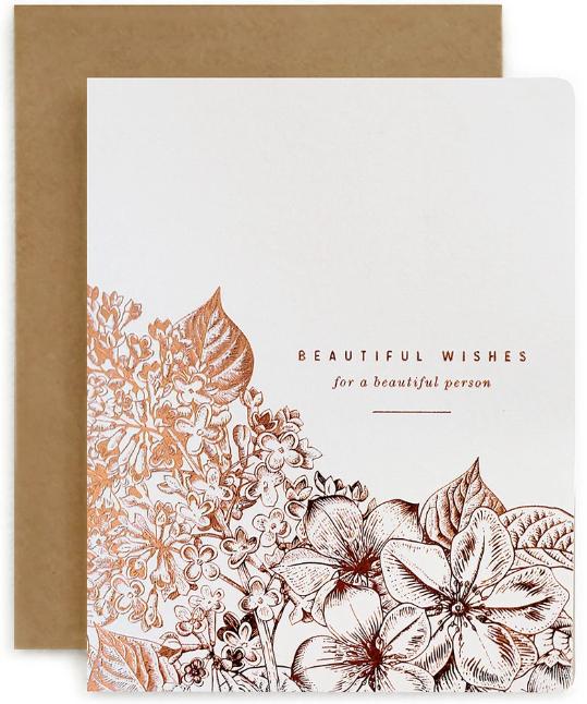 BOTANICAL 'BEAUTIFUL WISHES'