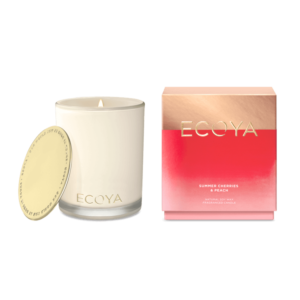 ECOYA SUMMER CHERRIES & PEACH MADISON JAR