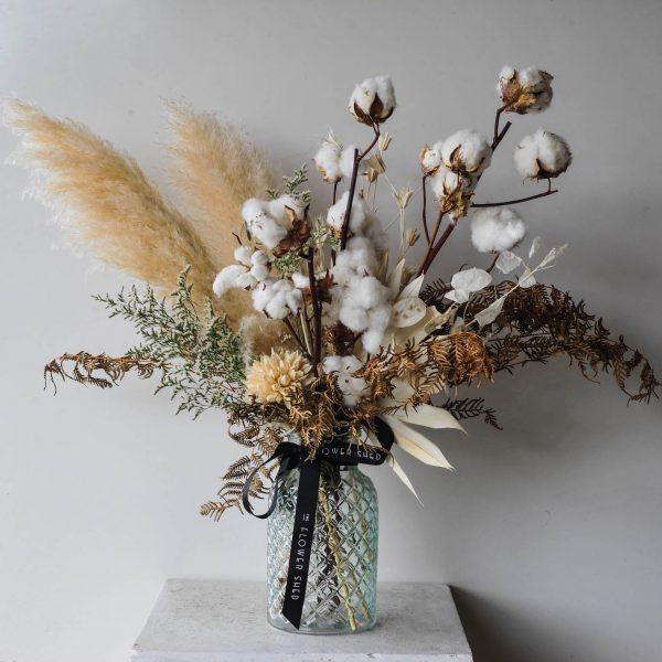 Sahara dried flower arrangement