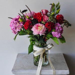 summer bliss flower arrangement