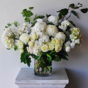 White Seasonal Flower Arrangement